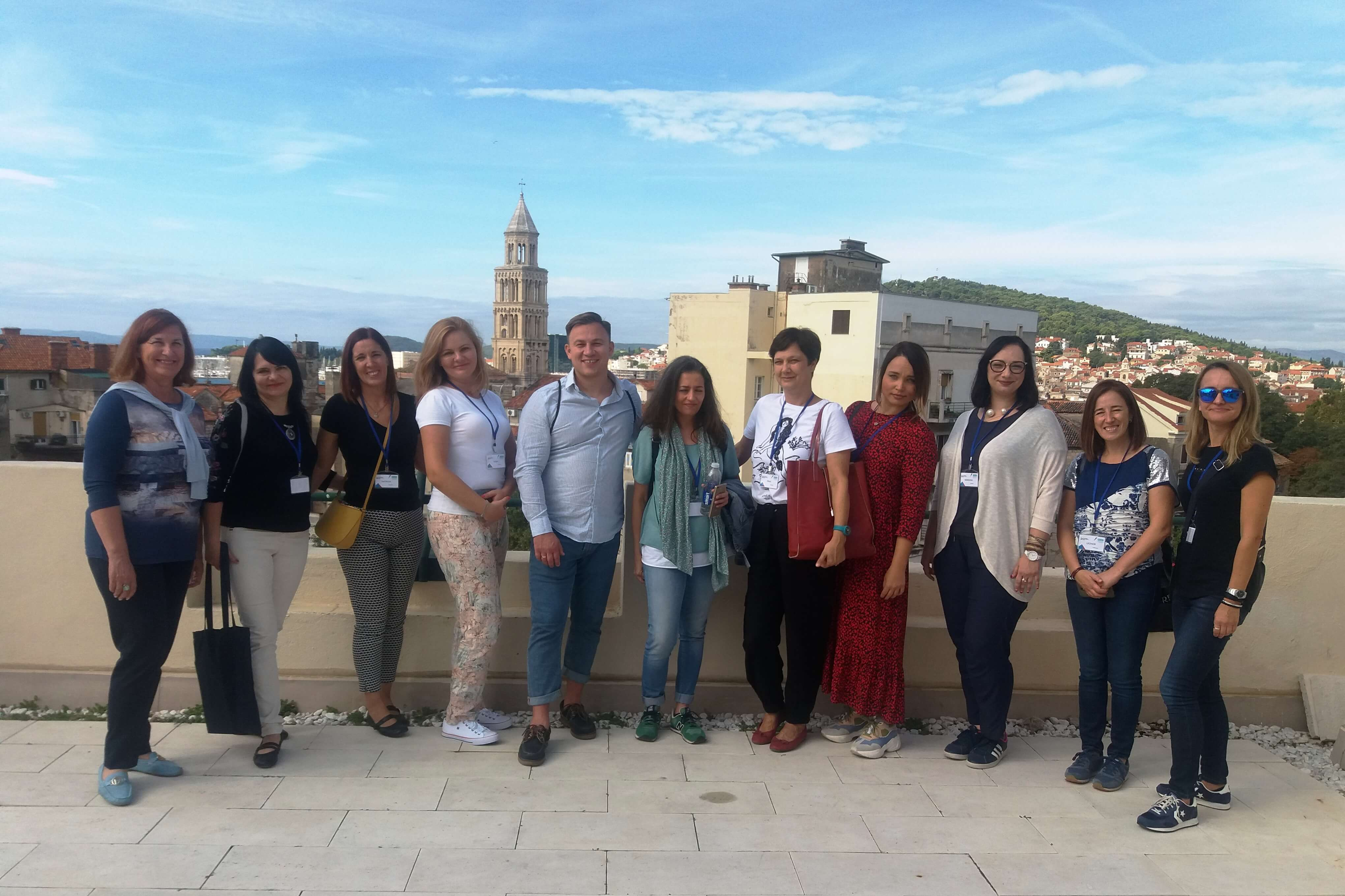 """Erasmus+ """"Europos startuoliai"""" Kroatijoje"""