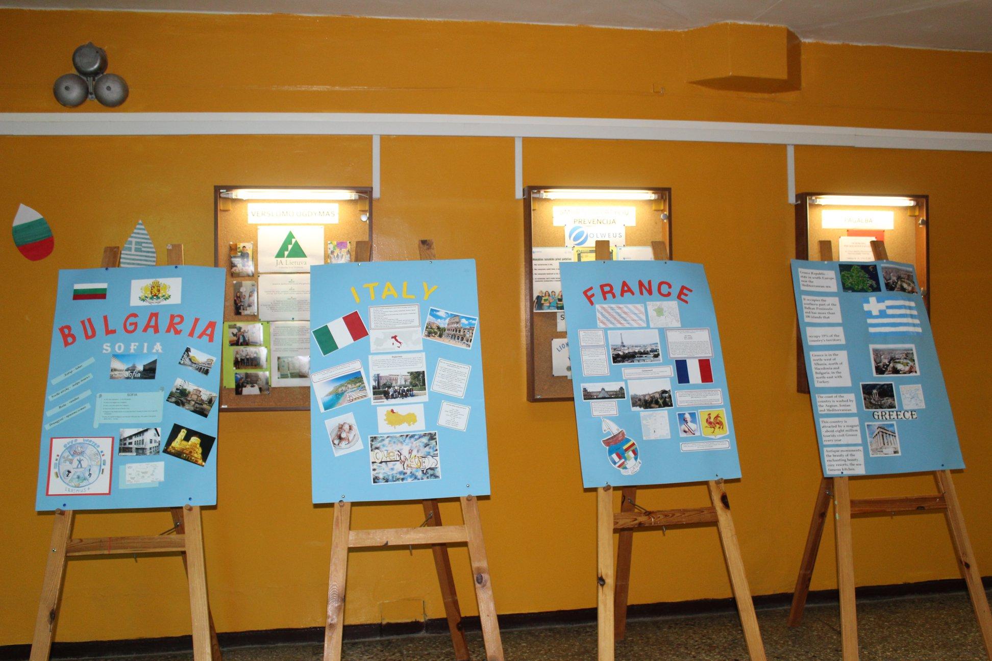 """Erasmus+ projekto """"Apie vandenį"""" tarptautiai mokinių mainai Likiškėlių progimnazijoje"""