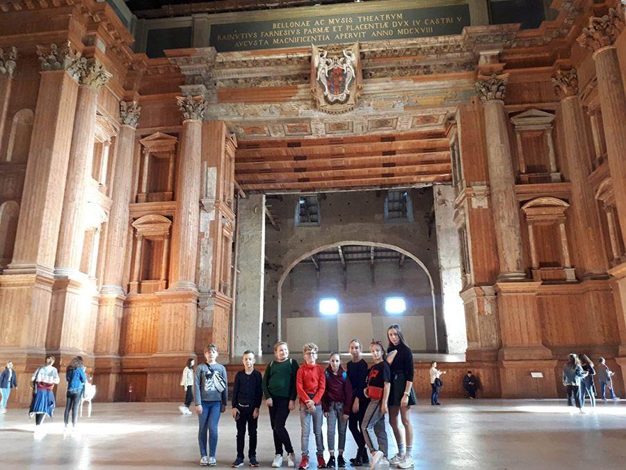 """Erasmus+ projekto """"Trumpų grafinių istorijų rinkinys"""" mokinių mainai Italijoje"""