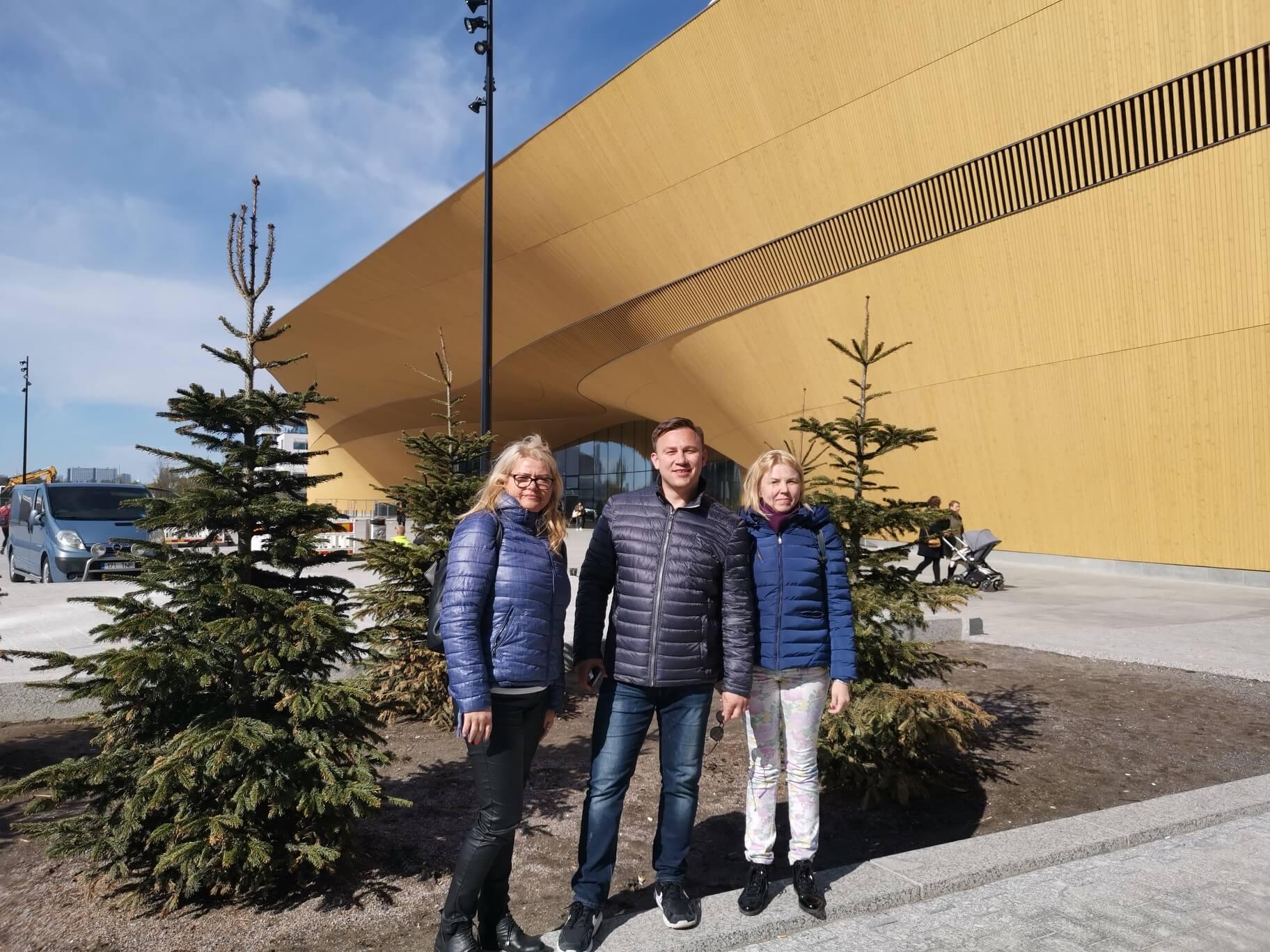 Mūsų mokyklos mokytojai sėmėsi patirties Suomijoje